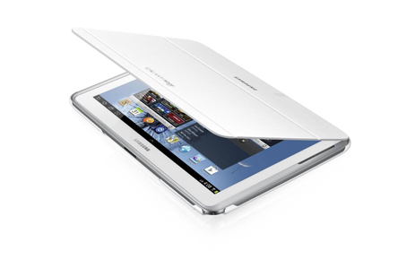 Samsung Book Cover EFC-1G2NWEC for Note 10.1, White hlektrikes-syskeyes-texnologia perifereiaka-ypologiston