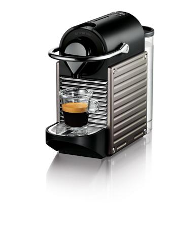Krups Nespresso Pixie Programmatic XN3005S, Titan hlektrikes syskeyes texnologia oikiakes syskeyes kafetieres