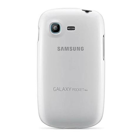 Samsung Original Cover for Galaxy Pocket Neo White (EFPS531BW)