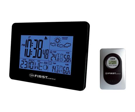 Μετεωρολογικός Σταθμός με Ξυπνητήρι First FA2461 paixnidia hobby gadgets meteorologikoi staumoi