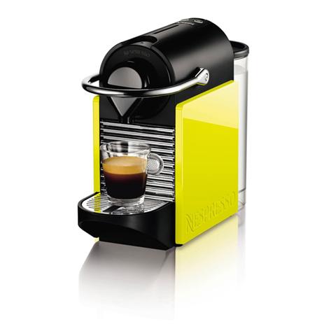 Μηχανή Nespresso Krups Pixie Programmatic Clips XN3020S, Mαύρη/Kίτρινοη hlektrikes syskeyes texnologia oikiakes syskeyes kafetieres