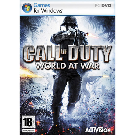 Call Of Duty World At War - PC Game gaming games paixnidia pc