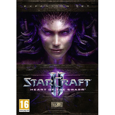 Starcraft II: Heart Of The Swarm - PC Game gaming games paixnidia pc