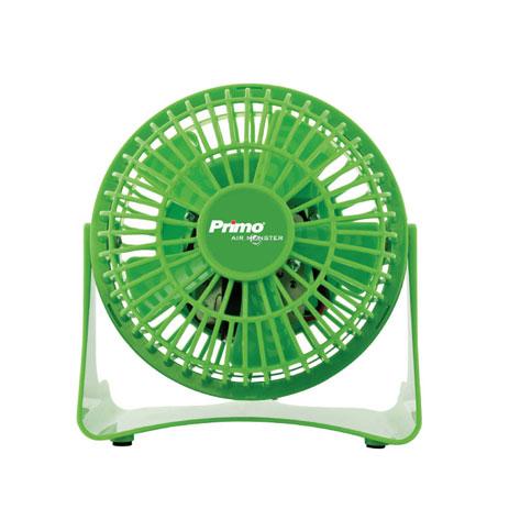 Primo, Ανεμιστήρας Mini 15719 4'' , 10cm Χρώμα Πράσινο
