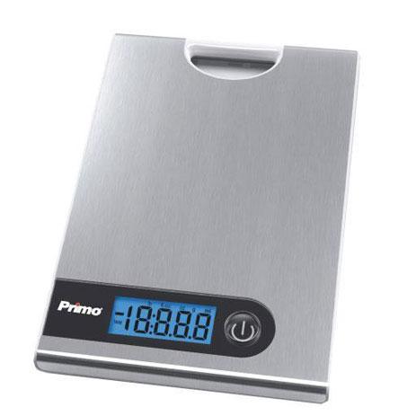 Primo, Ζυγαριά Κουζίνας Ψηφιακή XY-8051, Inox με χερούλι hlektrikes syskeyes texnologia oikiakes syskeyes zygaries koyzinas