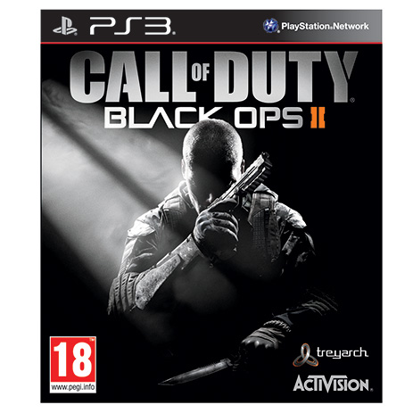 Call Of Duty Black Ops II - PS3 Game gaming games paixnidia ps3