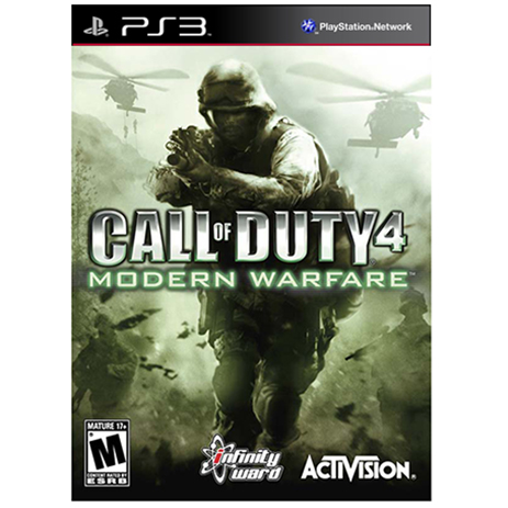 Platinum Call Of Duty 4 Modern Warfare - PS3 Game gaming games paixnidia ps3