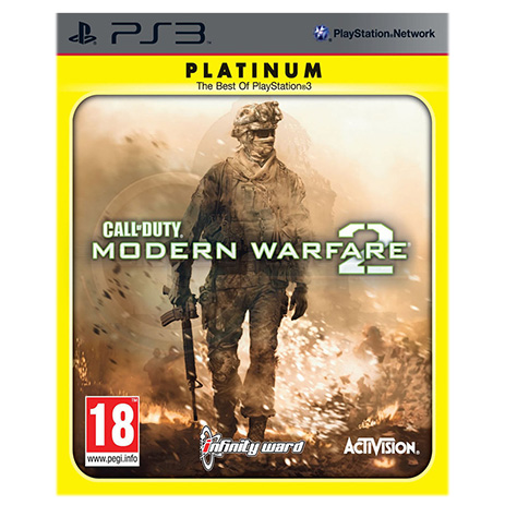 Platinum Call Of Duty Modern Warfare 2 - PS3 Game gaming games paixnidia ps3
