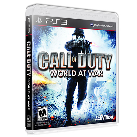 Platinum Call Of Duty World At War - PS3 Game gaming games paixnidia ps3