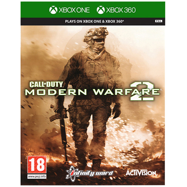 Call Of Duty Modern Warfare 2 Classics - XBox 360 Game gaming games paixnidia xbox 360