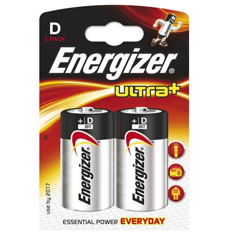 Energizer, Μπαταρία Ultra+ Power Seal D (632911) Energizer, Battery Ultra+ Power bibliopoleio perifereiaka grafeioy mpataries