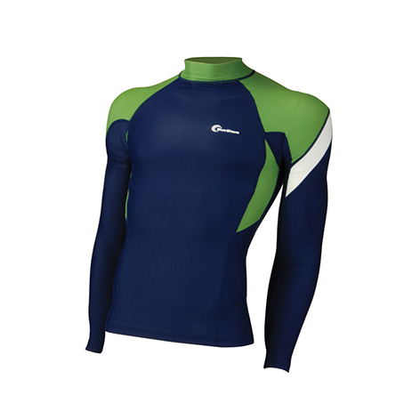 Rash Guard, Lycra Men, Large, Μακρυμάνικο (64606)
