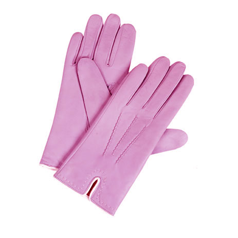 Diplomat Γυναικεία Δερμάτινα Γάντια IS 5863 Ροζ, Μέγεθος Small paixnidia hobby eidh tajidioy gantia