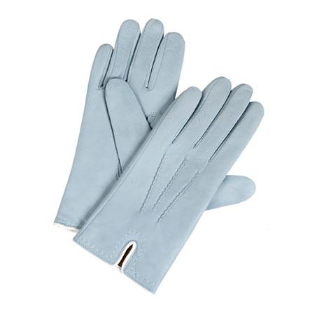 Diplomat Γυναικεία Δερμάτινα Γάντια IS 5863 Γαλάζιο, Μέγεθος Small paixnidia hobby eidh tajidioy gantia