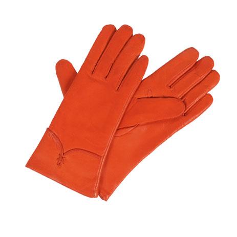 Diplomat Γυναικεία Δερμάτινα Γάντια IS 5696 Πορτοκαλί, Μέγεθος Small paixnidia hobby eidh tajidioy gantia
