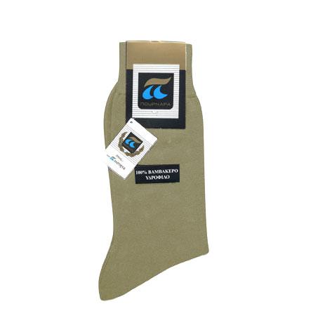 Ανδρικές Κάλτσες Πουρνάρα 320 Υδρόφιλες 100% Βαμβακερές
