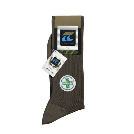 Ανδρικές Κάλτσες Πουρνάρα Χωρίς Λάστιχο 260 85% Βαμβακερές fashion365 kaltses andrikes