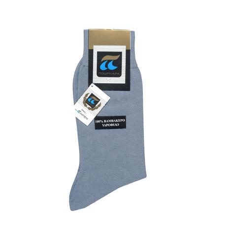 Ανδρικές Κάλτσες Πουρνάρα 320 Υδρόφιλες 100% Βαμβακερές fashion365 kaltses andrikes
