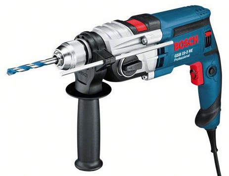 Δράπανο Κρουστικό Bosch GSB 19-2 RE Professional (850w)