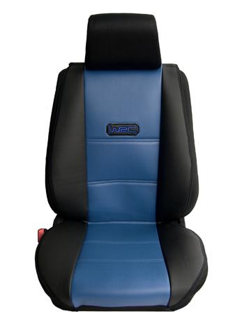 Πλατοκάθισμα Αυτοκινήτου Δερματίνη Coverstyle 9800-09 Μπλε, 2τμχ aytokinhto mhxanh esoteriko aytokinhtoy platokauismata