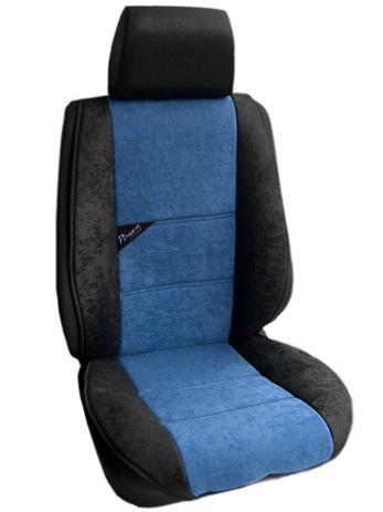 Πλατοκάθισμα Αυτοκινήτου Τύπου Αλκαντάρα Coverstyle 9800-26 Μπλε Σκούρο, 2τμχ aytokinhto mhxanh esoteriko aytokinhtoy platokauismata