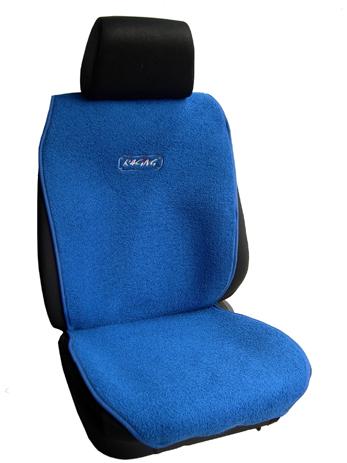 Πλατοκάθισμα Αυτοκινήτου Πετσέτα Μονόχρωμη Coverstyle 9800-12 Μπλε, 2τμχ aytokinhto mhxanh esoteriko aytokinhtoy platokauismata