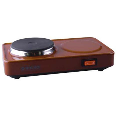 Επιτραπέζια Ηλεκτρική Εστία Kalko K6622 Καφέ 450W