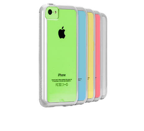 Case-mate, Tough Naked Cases for Apple iPhone 5C in Clear-White (CM029377) hlektrikes syskeyes texnologia kinhth thlefonia prostateytikes uhkes
