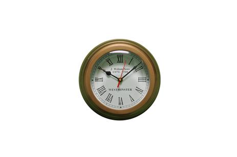 Μπρούτζινο Ρολόι Τοίχου, Φιλιστρίνι, Διάμετρος 20 cm, Βάθος 12 cm