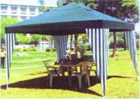 Campus Κιόσκι Κήπου ,300x300x250, 140grM3 (10-09588) khpos outdoor camping khpos beranta epipla khpoy
