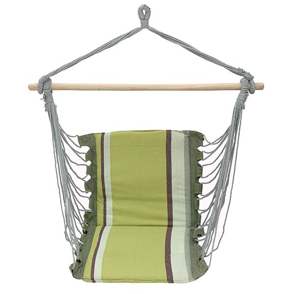 Velco Αιώρα-Κάθισμα Βαμβακερή & Ξύλο 100x55x10, 9-007706