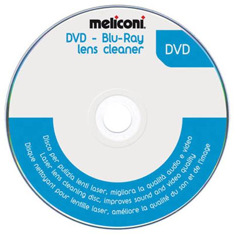 Meliconi 621012 DVD Καθαρισμού Κεφαλής lazer hlektrikes syskeyes texnologia perifereiaka ypologiston ajesoyar