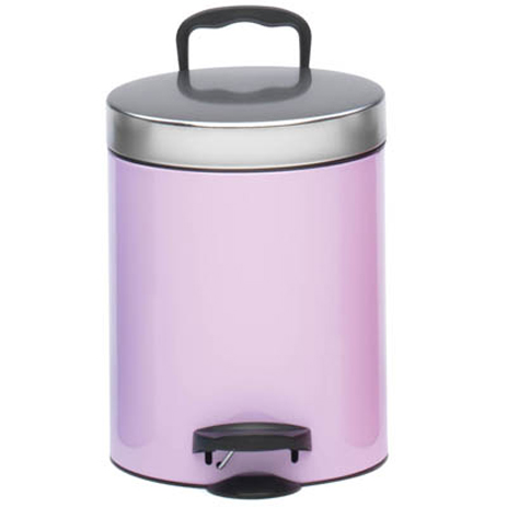 Meliconi 140055 Μεταλλικός Κάδος Απορριμμάτων 5lt Lavender spiti eidh spitioy kadoi aporrimmaton