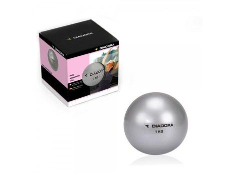 Μπάλα άσκησης 1kg από την Diadora paixnidia hobby organa gymnastikhs ajesoyar