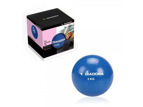 Μπάλα άσκησης 2kg Diadora paixnidia hobby organa gymnastikhs ajesoyar