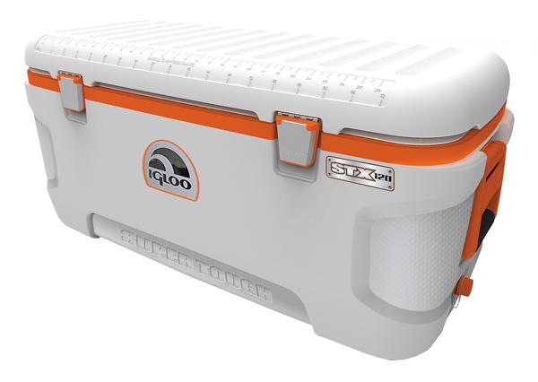 Igloo, Ψυγείο Φορητό Super Tough STX 120, 41761 (114L), Λευκό Πορτοκαλί
