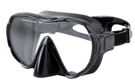 Μάσκα Σιλικόνης Comet Εσωτερικού Όγκου 95cm Χρώμα Μαύρο paixnidia hobby diving maskes