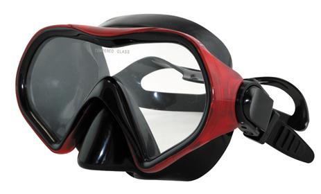 Μάσκα Vera BK Red Χρώμα Κόκκινο-Μαύρο (61018) paixnidia hobby diving maskes
