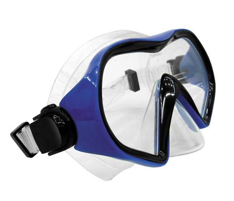 Σετ Μάσκα TPP Αναπνευστήρα Vera Χρώμα Μπλε -Διαφανές paixnidia hobby diving set