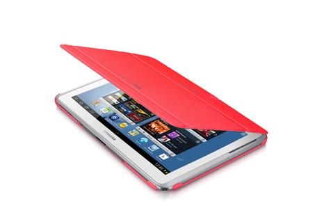 Samsung Book Cover EFC-1G2NPEC for Note 10.1, Pink hlektrikes syskeyes texnologia perifereiaka ypologiston tsantes uhkes