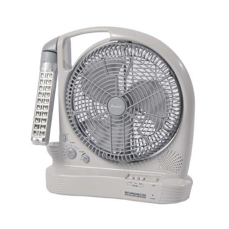 """Ανεμιστήρας Επαναφορτιζόνενος Box Fan 30Cm 12"""" Primo SF-386BL hlektrikes syskeyes texnologia klimatismos uermansh anemisthres"""