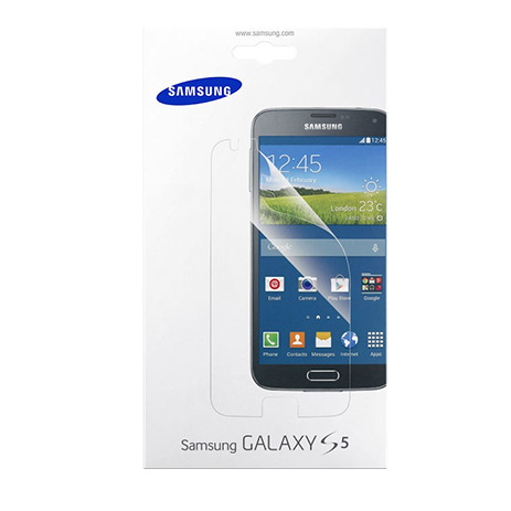 Samsung Original Screen Protectors for Galaxy S5 (ET-FG900CTE), 2τμχ hlektrikes syskeyes texnologia kinhth thlefonia membranes