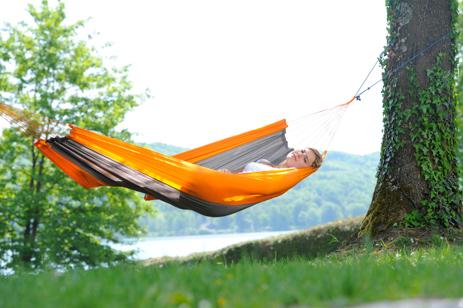Αιώρα Amazonas Silk Traveller Techno Orange-Grey khpos outdoor camping epoxiaka camping aiores