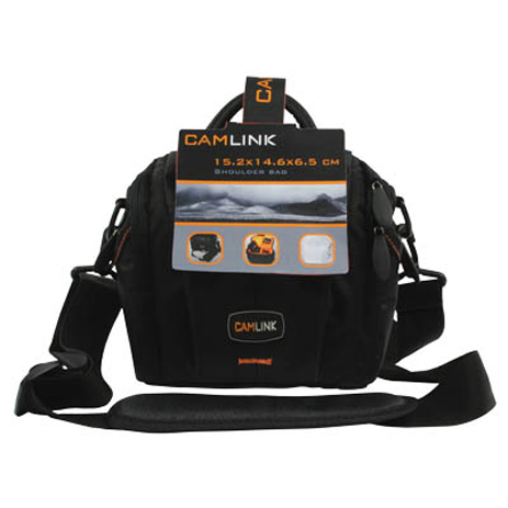 Τσάντα Φωτογραφικής Μηχανής SLR Camlink CL-CB20 15.2x14.x6.5cm paixnidia hobby fotografikes mhxanes tsantes uhkes
