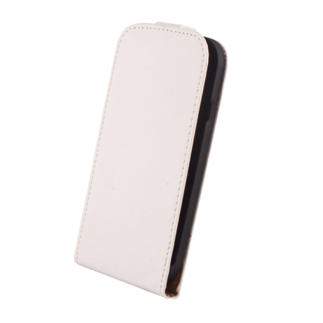 Θήκη Flip Elegance για Samsung Fame S6810, White hlektrikes syskeyes texnologia kinhth thlefonia prostateytikes uhkes