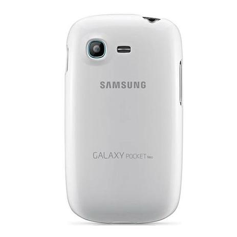Samsung Original Cover for Galaxy Pocket Neo, White (EF-PS531BW) hlektrikes syskeyes texnologia kinhth thlefonia prostateytikes uhkes