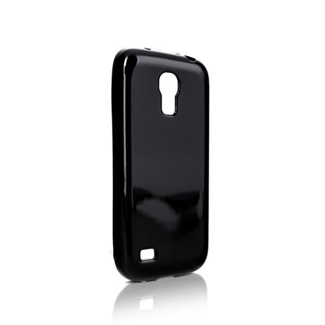 Θήκη Xqisit Flexcase για Galaxy S4 Mini i9190-i9195, Solid Black hlektrikes syskeyes texnologia kinhth thlefonia prostateytikes uhkes