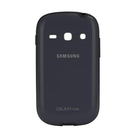 Samsung Original Cover+ για Galaxy Fame S6810, Blue (EF-PS681BLEGWW) hlektrikes syskeyes texnologia kinhth thlefonia prostateytikes uhkes