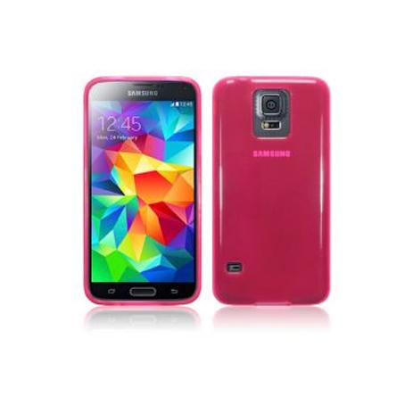 Θήκη TPU Gel για Samsung Galaxy S5 Hot Pink hlektrikes syskeyes texnologia kinhth thlefonia prostateytikes uhkes