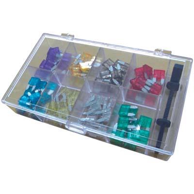 Σετ Mini Αυτόματες Ασφάλειες Σε Ακτινική Μορφή, Hq Amf Ass80 Mini aytokinhto mhxanh hlektrika asfaleies